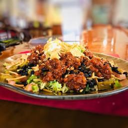 Sloppy Taco Salad